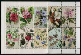 BERMUDA 2015 - Fleurs Des Iles Bermuda - 10 Val En Carnet Neufs // Mnh Booklet Of 10 Stamps - Bermudes