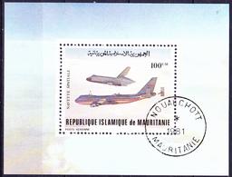 Mauretanien - Space Shuttle Und Transporter (Mi.Nr.: Bl. 31) 1981 - Gest Used Obl - Mauritanie (1960-...)
