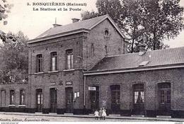 Reproduction Ronquieres Braine Le Comte   Hainaut Gare Station - Braine-le-Comte