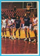 MEDITERRANEAN GAMES 1979. - GREECE BASKETBALL TEAM ( Yugoslavian - Mint Card ) Basket-ball Pallacanestro Griechenland - Tarjetas