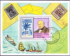 Mauretanien - 100. Todestag Von Rowland Hill (Mi.Nr.: Bl. 24) 1979 - Gest Used Obl - Mauritanie (1960-...)