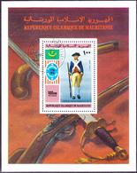 Mauretanien - 200 Jahre Unabhängigkeit Der USA (Mi.Nr.: Bl. 14) 1976 - Gest Used Obl - Mauritanie (1960-...)