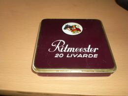 Ritmeester 20 Livarde 20 Cigars Made In Holland - Contenitori Di Tabacco (vuoti)