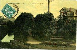 95 - Boissy-l'Aillerie - Le Moulin Et Le Jardin. - Boissy-l'Aillerie