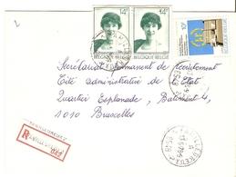 Belgique 1978 - Lettre Recommandée De FAMILLEUREUX - Province Du Hainaut - Cob 1808 X 2/1885 - Belgique