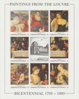 Bicentenaire Du Louvre 1993 Dominica Titian 1486-93 ** MNH - Kunst