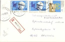 Belgique 1978 - Lettre Recommandée De MALDEREN - Brabant Flamand - Cob 1/1887 X 2 - Belgique