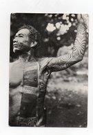 Marquisien Tatoué Photographie De 1897 - Tahiti