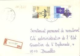 Belgique 1979 - Lettre Recommandée De MANHAY - Province Du Luxembourg - Cob 1927/1937 - Belgique