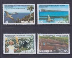 Mauritius 1985 10th Anniversary Of The World Tourism Organisation MNH - Mauritania (1960-...)