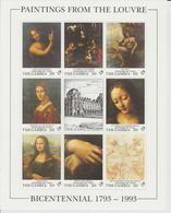 Bicentenaire Du Louvre 1993 Gambie L De Vinci 1335-42 ** MNH - Other