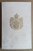 1935 KINGDOM YUGOSLAVIA Railway Identity Card For War Orphans - Abonnements Hebdomadaires & Mensuels