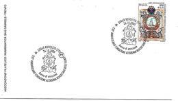 SG0030 - MARCOFILIA - ANNULLO ROVERETO - 250° ANNIVERSARIO FONDAZIONE ACCADEMIA ROVERETANA DEGLI AGIATI - 26.10.2000 - 6. 1946-.. Repubblica