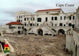 1 AK Ghana * Cape Coast Castle In Der Stadt Cape Coast - Seit 1979 UNESCO Weltkulturerbe * - Ghana - Gold Coast