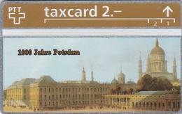 Switzerland, K-226.A, Die Goldenen Königskarten - 1000 Jahre Potsdam, 2 Scans.   401L - Schweiz