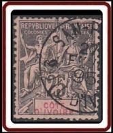 Côte D'Ivoire 1892-1912 - N° 08 (YT) N° 8 (AM) Oblitéré San Pedro. - Gebraucht