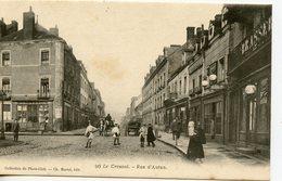 294. CPA 71 LE CREUSOT. RUE D'AUTUN - Le Creusot