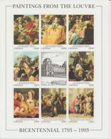 Bicentenaire Du Louvre 1993 Ghana Tiepolo 1441-48 ** MNH - Kunst