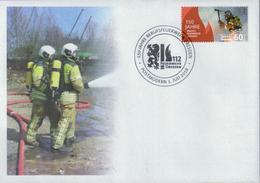 Deutschland PostModern '150 J. Feuerwehr Dresden' / Germany '150th Ann. Of Dresden Firefighters' FDC 2018 - Firemen