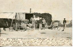 296. CPA 33 TAUSSAT-LES-BAINS. BASSIN D'ARCACHON. L'ANCIEN PONTON 1905 - Arcachon