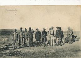 Hereropatrouille P. Used  Seeheim Deutsch Sudwestafrika To Morocco Ben Amer Hereros German Genocide - Namibia