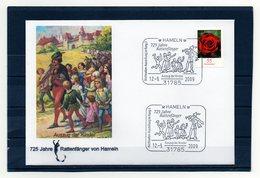 BRD, 2009, Brief Mit Michel 2669 Und Sonderstempel, 725 Jahre Rattenfänger Von Hameln - [7] Federal Republic