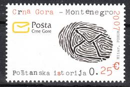 Montenegro 2007 Postal History, Definitive Stamp MNH - Montenegro