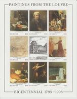 Bicentenaire Du Louvre 1993 Guyana 3077-84 ** MNH - Art