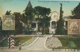Gouverneurhaus Windhuk D.-S.-W. Afr. P. Used Deutsch Afrika  Edit Fritz Nink - Namibie