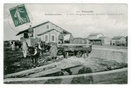 16 - T4482CPA - ROUMAZIERES - La Gare - Chargement Des Tuiles POLAKOWSKI - Parfait état - CHARENTE - Non Classés