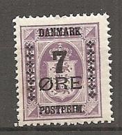 DK  Yv. N°  179  *  7o S 15o   Service  Surchargés   Cote  5,25  Euro BE   2 Scans - 1913-47 (Christian X)