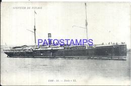 106243 SHIP SS. ETOILE VOYAGE POSTAL POSTCARD - Zonder Classificatie