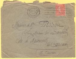 FRANCIA - France - 1927 - 50c Semeuse + Flamme Pour Paris Mettre Le Numéro De L'arrondissement - Viaggiata Da Toulouse P - Storia Postale