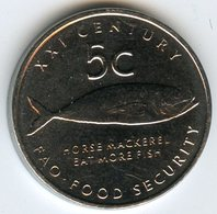 Namibie Namibia 5 Cents 2000 FAO Poisson UNC KM 16 - Namibie