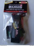 SWISS ARMS BATTERIE RECHARGEABLE AIRSOFT SOFTAIR 1200 MAH 20 C 9,9 Volt Neuve - Army & War