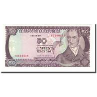 Billet, Colombie, 50 Pesos Oro, 1986-01-01, KM:425b, NEUF - Colombie