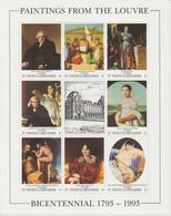 Bicentenaire Du Louvre 1993 St Vincent Et Grenadines Ingres 1655-62 ** MNH - Art