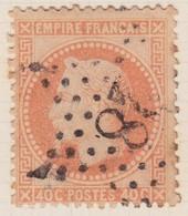 N°31 Oblitéré étoile 28, TB - 1863-1870 Napoléon III Lauré