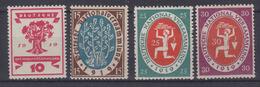 DR MiNr. 107-110 ** - Unused Stamps