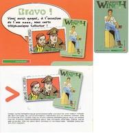 Carte Kertel Largo Winch, Très Rare, Tirage Très Réduit En Décembre 1999 - Comics