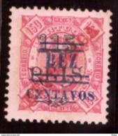 """Sao Tomé E Príncipe 1923- Issues Of 1914-1915 Surcharged """" / Saint-Thomas-et-l'île Du Prince 10/115/150 C/R NEUF - St. Thomas & Prince"""