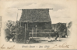Chief's House Bau Fiji  Edit Andersen Levuka  P. Used Levuka  To Cie Française Elevage Canada Nouvelle Caledonie - Fidji