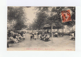 Sur Carte Postale Type Semeuse CAD Lamalou Les Bains Hérault Juillet 1913. (1005x) - Marcophilie (Lettres)