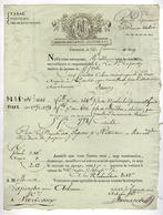 TONNEINS Dpt  Lot Et Garonne , LAPERCHE AINE LAVILLE ARBANERE & Cie  Manufacture Nationale De Tabac Lettre D'envoi 1809 - 1800 – 1899