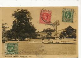 Botanical Gardens Suva Fiji No 2  3 Stamps  Sent To Havana Cuba - Fidji