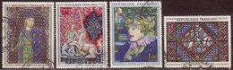 FRANCE - 1964 - YT N° 1424 / 1427 - Oblitérés - Oeuvres D'Art - France