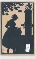 CPA -19018 - Scherenschnitt  (carte Silhouette) Von Marg. Brauer  ( édition Allemande ) - Silhouettes