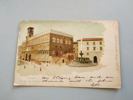 CARTOLINA PERUGIA - PIAZZA DEL MUNICIPIO - Perugia