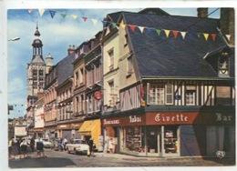 Bernay : La Rue Thiers (cp Vierge N°71 Artaud) - Bernay