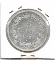 LEOPOLD 1 - 5 FRANK 1848 - 11. 5 Francos